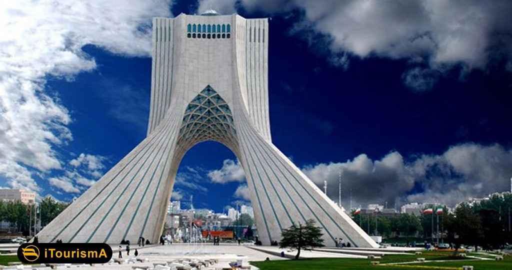 برج آزادی از نمادهای شهر تهران