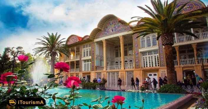 باغ ارم باغی تاریخی در شهر شیراز