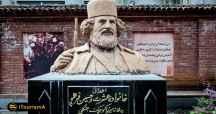 ارامگاه میرزا کوچک خان جنگلی در جنوب شهر رشت