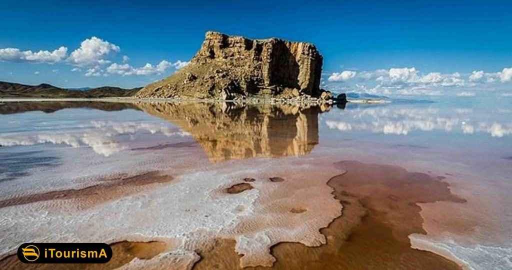 دریاچه ارومیه بیست و پنجمین دریاچه بزرگ دنیا از نظر مساحت
