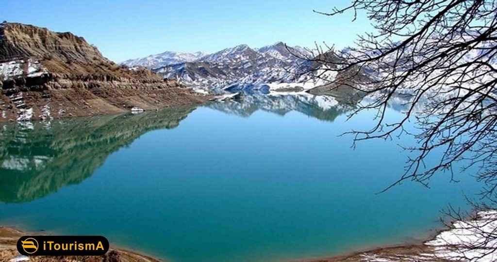 دریاچه سد ایلام از دیدنیهای ایلام