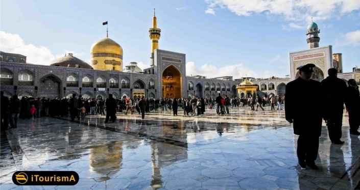 حرم امام رضا (ع) از شاخصترین جاذبههای گردشگری و تاریخی مشهد