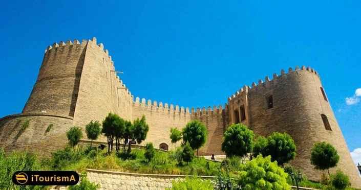 قلعه فلک الافلاک چشمگیرترین اثر تاریخی و گردشگری شهر خرم آباد