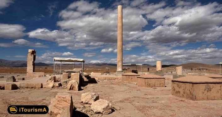 مجموعه میراث جهانی پاسارگاد در استان فارس