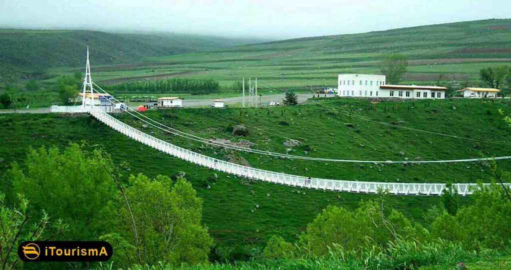 Meshgin Shahr Suspension Bridge