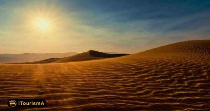 Qum Tapa Desert