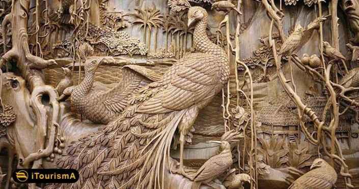 گنجینه هنرهای تزئینی دارای کلکسیونی از اشیای تاریخی دوران صفویه و قاجار