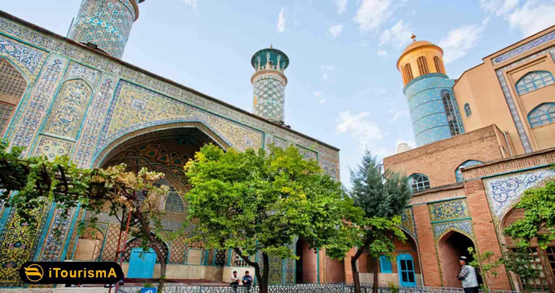 مسجد جامع سنندج یا مسجد دارالاحسان در قلب شهر سنندج