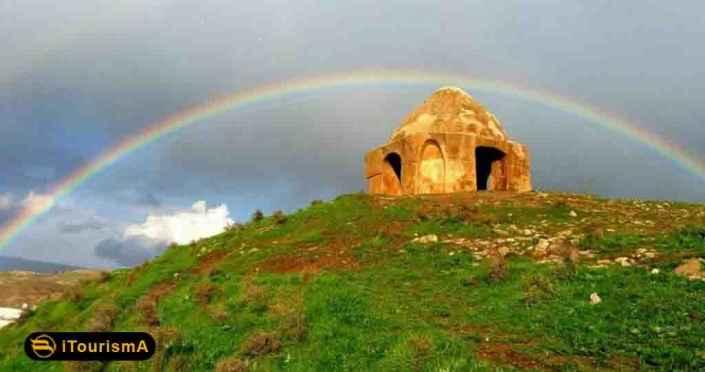 آتشکده دره شهر، یکی از بناهای تاریخی چهارطاقی در غرب کشور