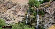 دوقلو، یک آبشار فصلی در نزدیکی شهر تهران