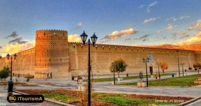 قلعه کریم خان، یک ارگ باستانی در مرکز شهر شیراز
