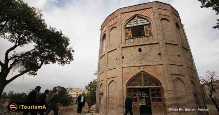 برج خلعت پوشان در شرق شهر تبریز