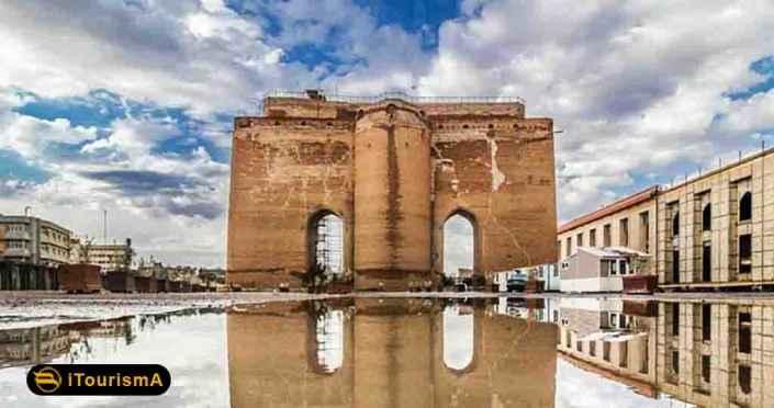 ارگ علیشاه یکی از بلندترین و قدیمی ترین دیوارهای تاریخی در ایران