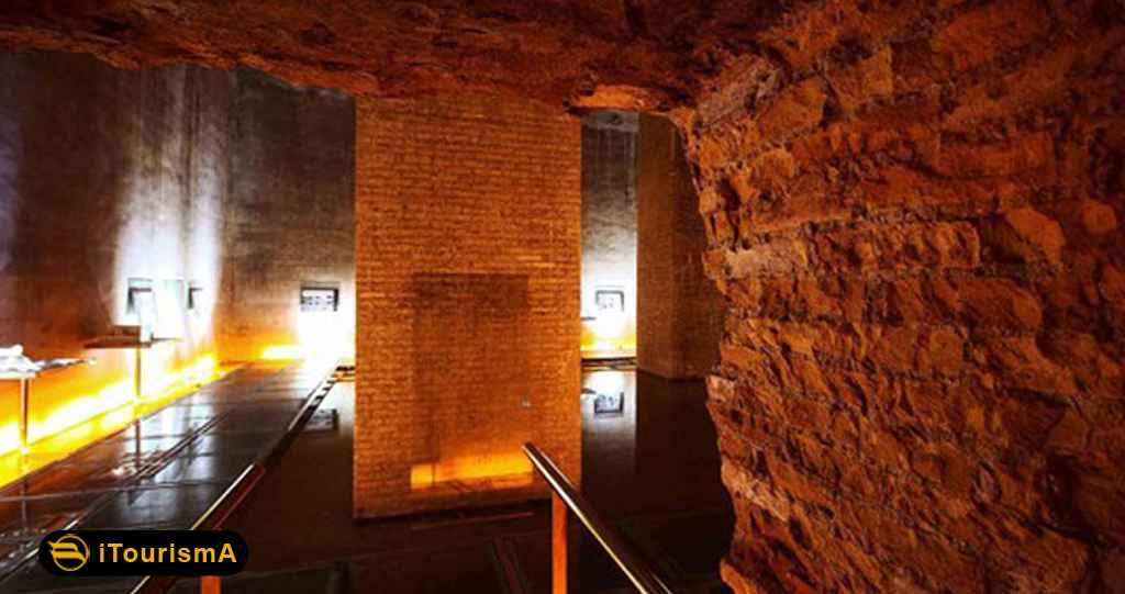 موزه آب شیراز در آب انبار وکیل قرار دارد