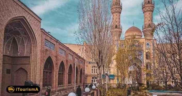 مسجد جامع تبریز یک سایت تاریخی با ویژگی های معماری برجسته و عالی در شهر تبریز