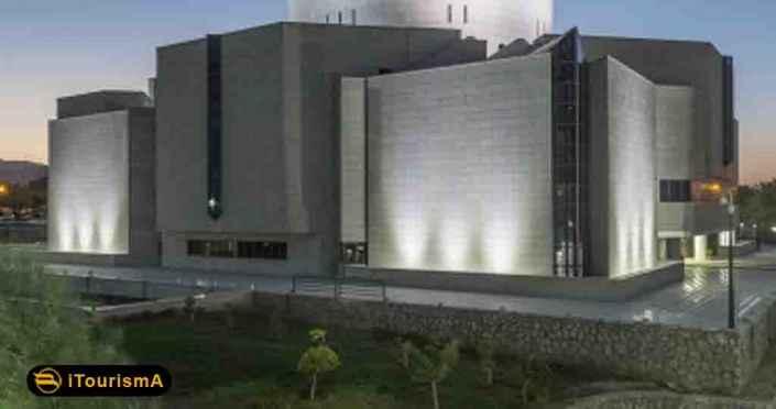 موزه بزرگ خراسان با معماری منحصر بفرد آن در پارک کوهسنگی واقع شده است