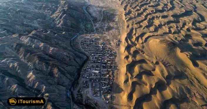 Reza Abad is the name of a village and desert in Semnan province, with multiple attractions