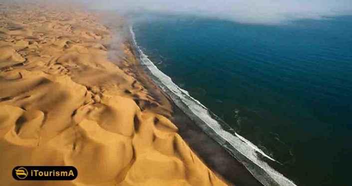 Darak Desert is a unique site where desert reaches the sea near Konarak County