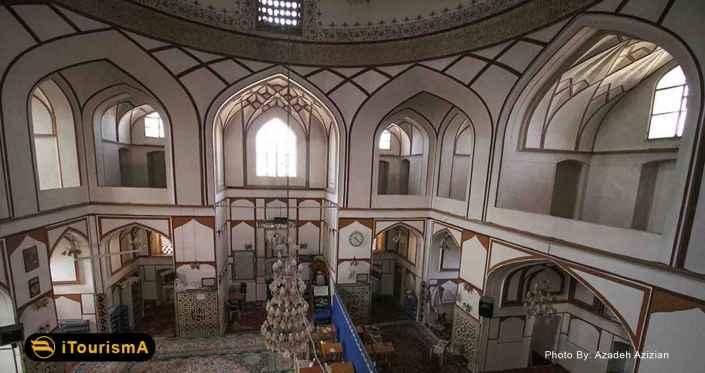 مسجد و منار علی بر اساس طرح مساجد چهار ایوانی