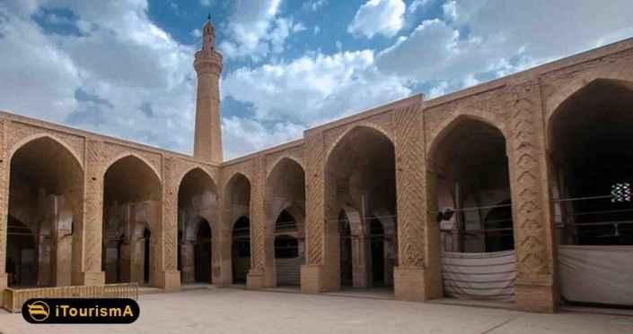 مسجد جامع نائین یکی از قدیمی ترین مساجد در ایران است