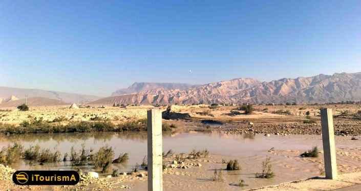 رودخانه مهران، پرآب ترین جریان در بندر لنگه