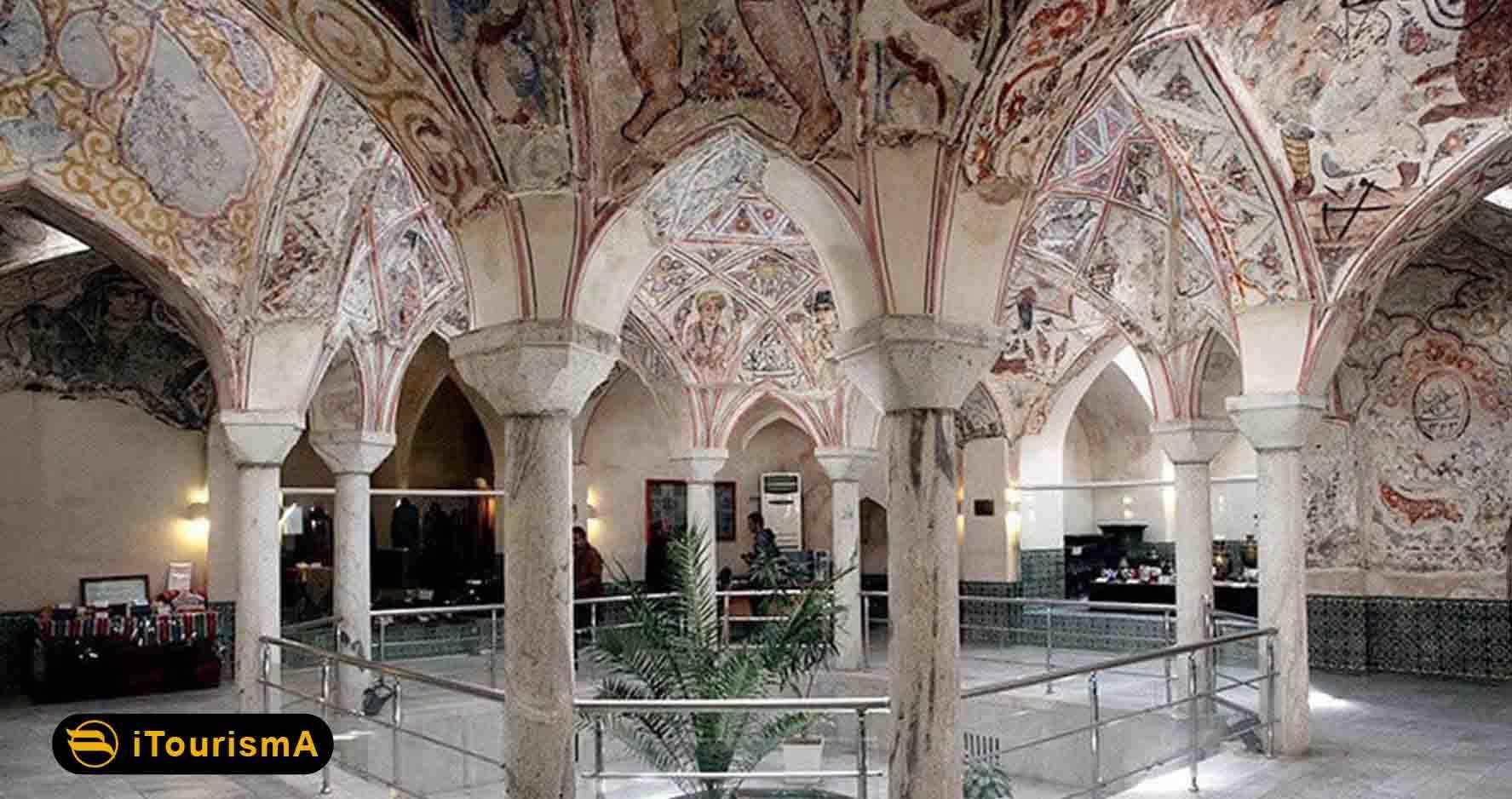 حمام شاه در مشهد یک اثر تاریخی مربوط به دوره صفویه می باشد
